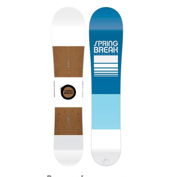 Spring Break Powder Pill Snowboard