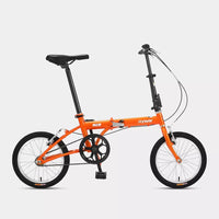 [From Xiaomi Youpin] FOREVER 16 Inch Folding Bicycle Aluminum Lightweight Foldable Mini Bike V Brake Urban Commuter Bicycle - White