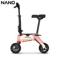 MOTINI  Folding Electric Bike Light and Fashionable Only About 9.9KG.