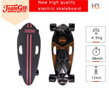 H3-B Electric Scooter For Adults 4 Wheel Scooters Motor 350W Remote Longboard Skateboard