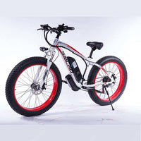 Smlro XDC600  Electric bicycle 4.0Fat tire 21 Speeds 26 Inch 48V 500W Snow Electric Bike E Bike Sandy Beach Electric Bike