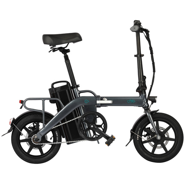 FIIDO L3 Flagship Version 48V 350W  23.2Ah Folding Electric Moped Bike 14 inch 25km/h Top Speed 3 Gear Power Boost Electric Bicycle Electric Bike