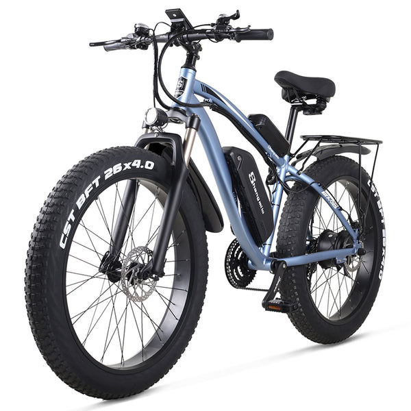 MX02S Sheng milo Electric bike ebike 48V1000W electric mountain bike 4.0 fat tire Electric Bicycle beach E-bike