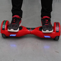 6.5inch Smart Electric Scooter 2 Wheels Self Balancing Scooter Lithium Battery LED Lights Hoverboard Balance Scooters US Plug