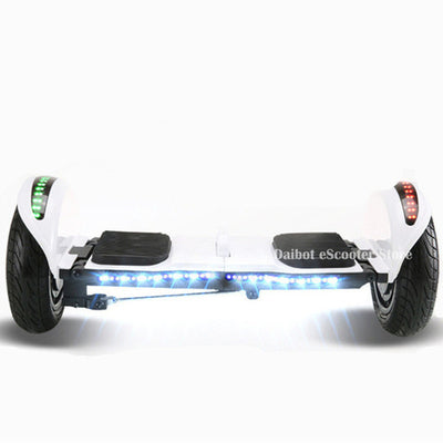 Daibot Off Road Electric Scooter Foldable 2 Wheels Self Balancing Scooters Dual Drive 250W 36V Hoverboard Skateboard Bluetooth