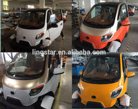 Hot Sell Mini 4 Wheels 2 Seats  Adults EEC Electric Car Made in China for  Sale Europe