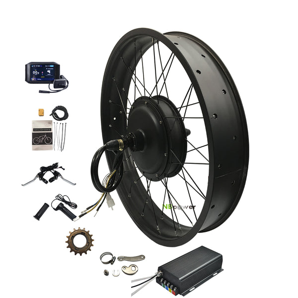 Electric bicycle kit fat tire QS motor 5000W snow e bike kit with 100A sabvoton controller