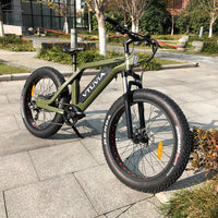 Super Electric Bike 26 Inch Fat Electric Bicycle 48V 500W 750W 1000 W Motor Aluminium Alloy Frame 7 Speed
