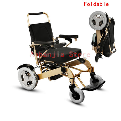 Free shipping Good quality folding electric wheelchair protable
