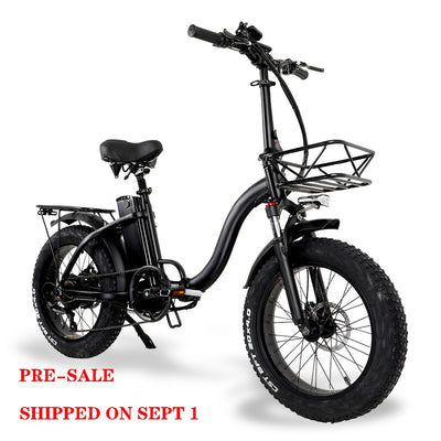 Pre-sale CMACEWHEEL Y20 Inch Variable Speed E-bike 48V/15Ah 750W WithStrong Power