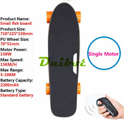 Ship from USA Europe Four Wheel Electric Skateboard Wireless Remote controller Scooter Plate Board hoverboard unicycle V63m#