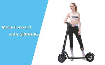 GRUNDIG Electric Scooter GD-X7, Ship Directly From Germany And Two Years After-Sale Services For European Customers