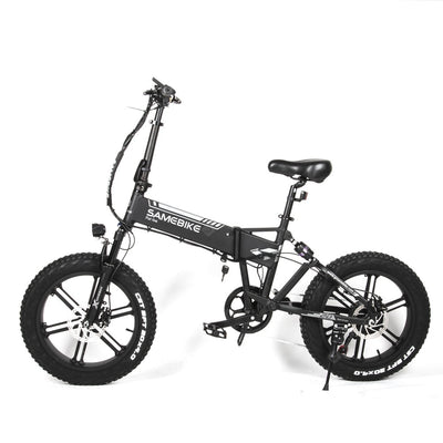 Samebike XWLX09 500W 20 Inch Folding Electric Moped Bike Three Riding Modes Electric Bicycle