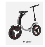 In Stock ! Free Shipping ! New Fashion High Quality Mini Foldable Electric Bicycle 7.8Ah Battery 14inch Electric Bike Long Range 35KM