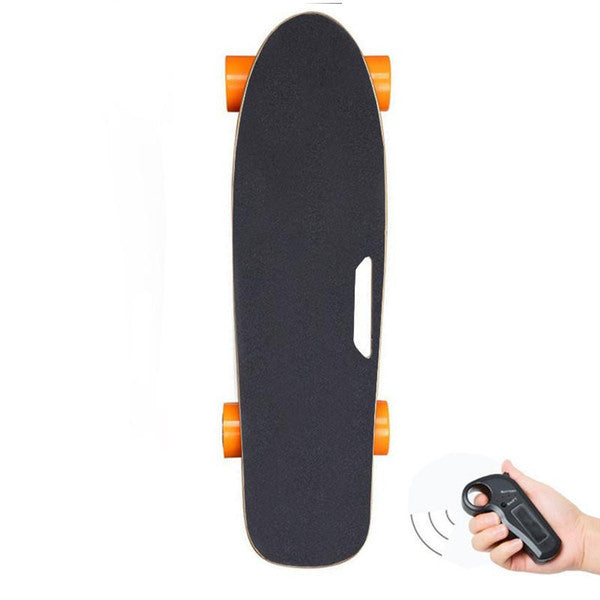 Electric Skateboard Mini Four Wheels Electric Scooters Motor 150W 24V Remote Control Portable Child Kick Scooter