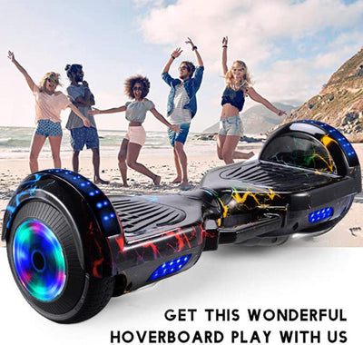 Smart Wheel Hoverboard Skateboard Bluetooth Self Balancing Scooter Flash Wheels 2 Wheels Self Balancing Scooter Dropship