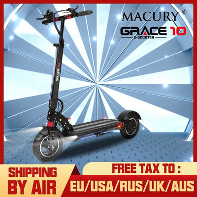 Macury GRACE10 electric scooter GRACE 10 hoverboard skateboard 2 wheel 10 inch 52V1000W adult Zero 10 mini foldable ZERO10