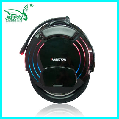 INMOTION V10F Electric unicycle high performance 2000W motor,speed 40km/h High pedal one wheel scooter 16inch intelligent