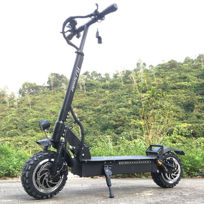 Powerful Electric Scooter 60V/3200W Electric Kick Scooter with 11inch on road / off road big fat wheel kick bike