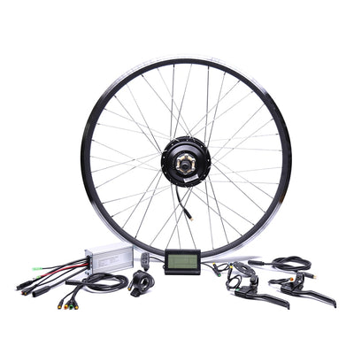 Waterproof 48v500w Bafang Rear Cassette Electric Bike Conversion Kit Brushless Hub Motors 20'' 26'' 28''Motor Wheel