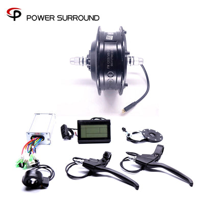 2019 48v500w Bafang Front/rear Electric Bike Conversion Kit Brushless Hub Motors Motor Wheel EBike system