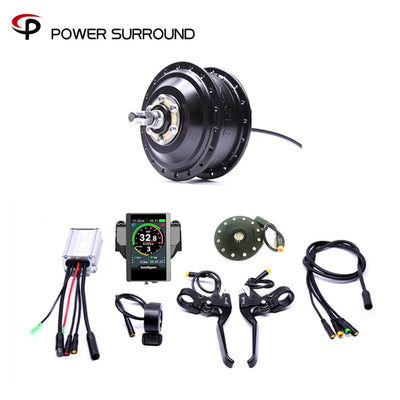 Color display Waterproof 36v250w Bafang Front/rear Electric Bike Conversion Kit Brushless Hub Motors Motor Wheel Ebike System