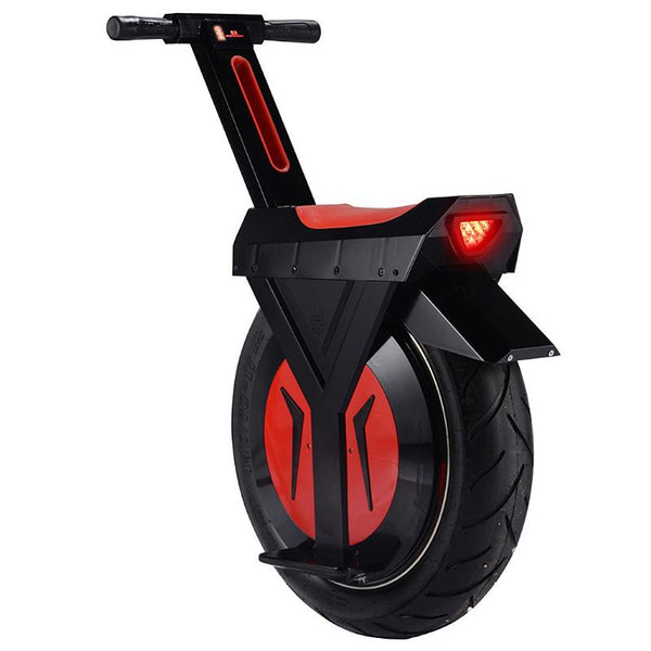17 Inch Big Tires Electric Unicycle Monowheel 500W 60V One Wheel Balance Scooters For Adults With Two Batteries easy-smart-way.myshopify.com