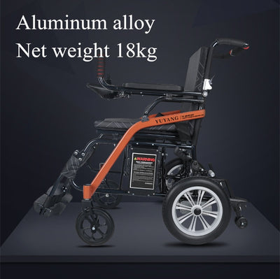 new model super lightweight foldabled electric wheelchair for disabled