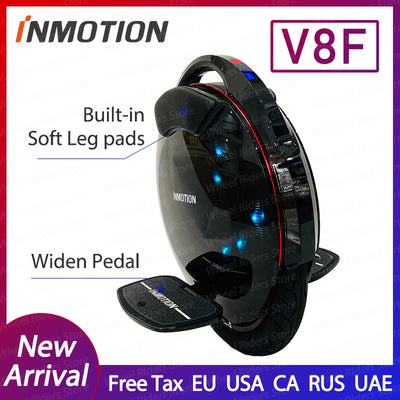 Original INMOTION V8F unicycle 2020 new arrival widen pedal built in legpads one wheel eletric balance wheel electric