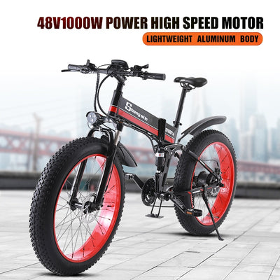 Electric bike  1000W  ebike 2019 New Electric  Mountain Bike folding electric bike bike eletrica electric car electric bike 48v