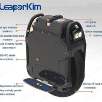 LeaperKim Veteran sherman Electric unicycle 100.8V 3200WH,motor power 2500W,Off-road,20-inch,NCR18650GA battery,max 70km/h easy-smart-way.myshopify.com