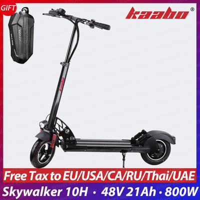 kaabo Skywalker 10H single drive 10inch tire foldable electric scooter 800W 1500w