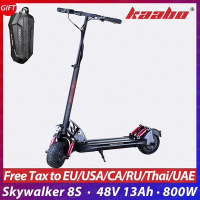 kaabo Skywalker 8S single drive 8inch solid tire foldable electric scooter with 200x85 tire