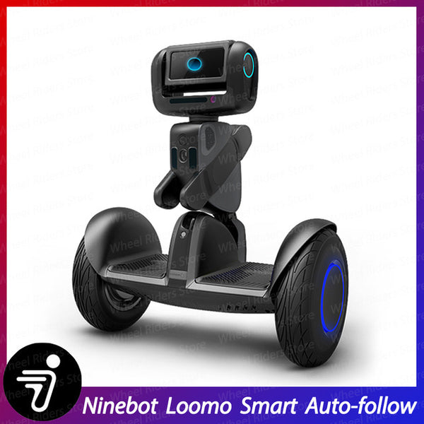 2020 Ninebot LOOMO Advanced Personal Robot Self balancing scooter hoverboard Intel ATOM 4x2.56GHz CPU/GPU 1080P Camera smart easy-smart-way.myshopify.com