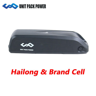 Original UPP Hailong eBike Li-ion Battery 36V 48V 52V Bicycle 8AH 10AH 13AH 16AH Batteries for Bafang BBSHD BBS02 Expand Range