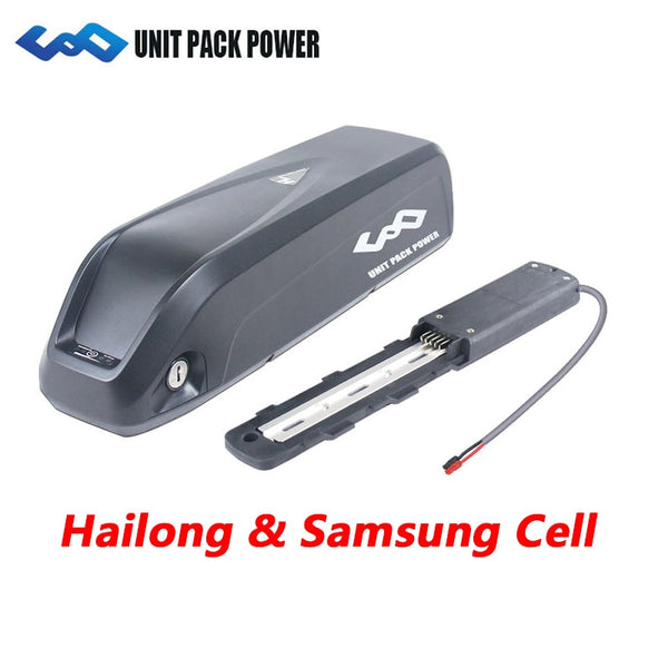 100% Samsung Cell 36V 10.4AH 11.6AH 13AH 14.5AH Hailong Frame eBike Battery 48V10.4AH 52V10.4AH Lithium Electric Battery