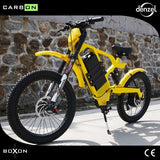 Electric motorcycles Carbon fiber   electric mountain bike 60v lithium battery  rear 2000w motor drive LCD smart electric ebiike easy-smart-way.myshopify.com