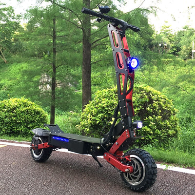 Newest Design Foldable Electric Scooter for Adults with 3200W motor wheel electric scooter off road fat tire kick Scooter
