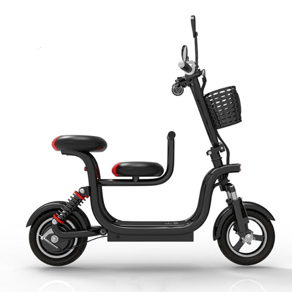10-inch Folding electric bike parent-child electric bicycle light and easy to carry electric bicycle travel electric vehicle easy-smart-way.myshopify.com