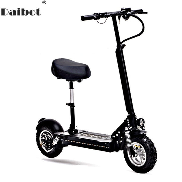 Daibot 10 Inch Powerful Electric Bike 48v Two Wheels Electric Scooters E Smart Way