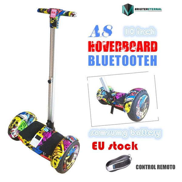 10.5 inch wheels Hoverboard Self Balancing Scooter Electric Scooter skateboard with blutooth  A8 big wheel handle hoaveboard easy-smart-way.myshopify.com
