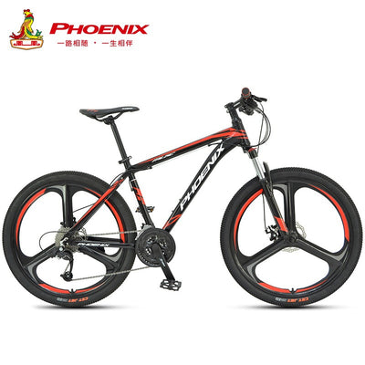 Phoenix 26''27.5''Student off-road Cycling Bike Mountain Bike 27 Speed Mens Women Steel Bicycle MTB Suspension Fork Bicycle
