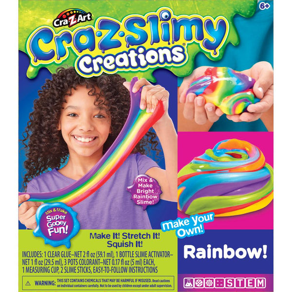 Cra-Z-Slimy Set Mediano Arco Iris