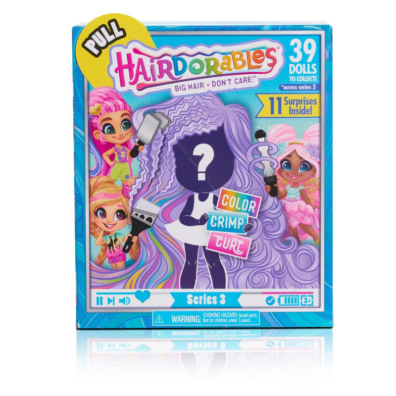 Hairdorables Serie 3 Muñeca X1