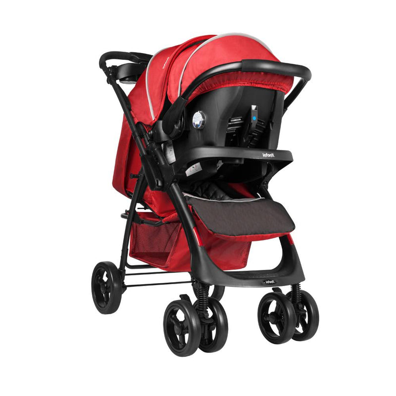 Travel System Andes E69 Mist Red Infanti