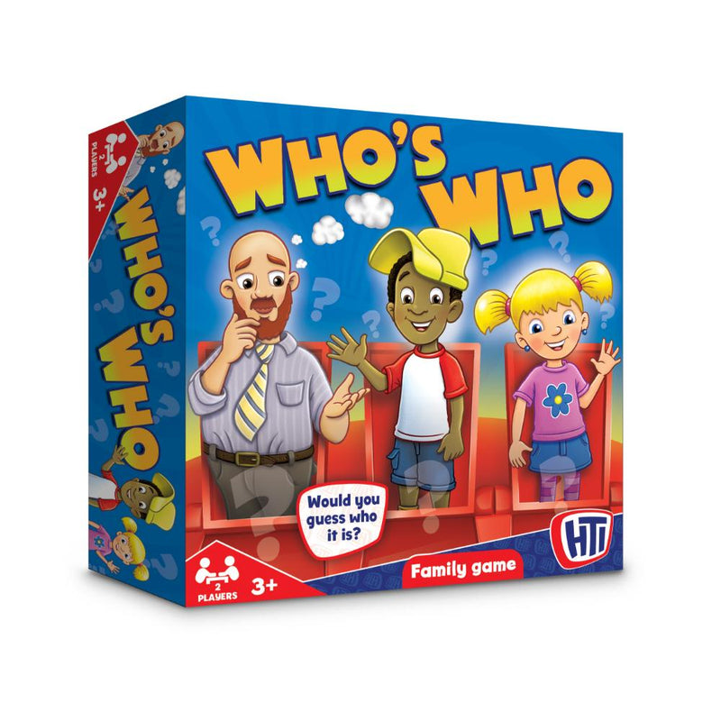 Juegos de Mesa - Who Is Who Game
