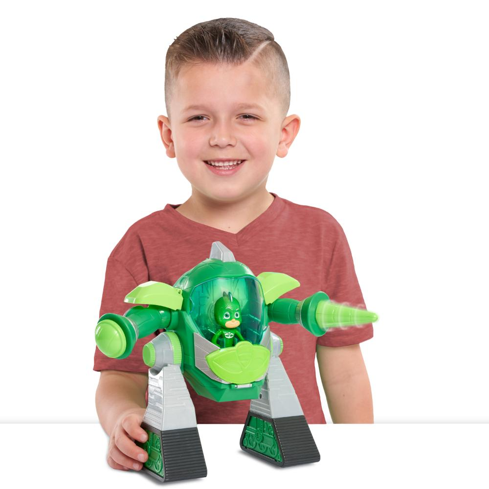 Pj Masks Vehículo Turbo Movers - Gekko