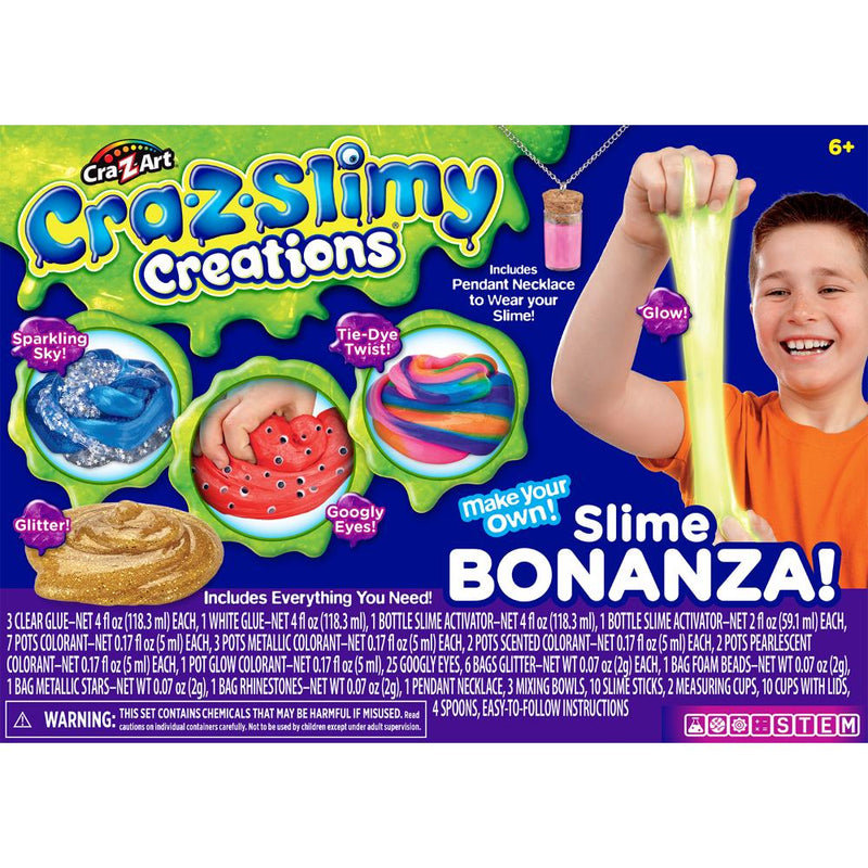 Cra-Z-Slimy Set Bonanza