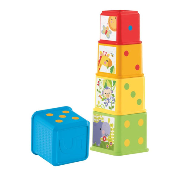 Fisher Price Mis Primeros Bloques De Animalitos