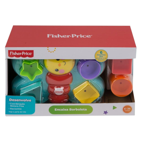 Fisher Price Mariposa De Bloques Divertidos
